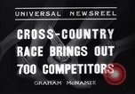 Image of Cross country race Paris France, 1937, second 7 stock footage video 65675041416