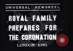Image of King George VI London England United Kingdom, 1937, second 6 stock footage video 65675041421