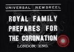 Image of King George VI London England United Kingdom, 1937, second 10 stock footage video 65675041421