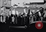 Image of picket line Jamaica New York USA, 1937, second 5 stock footage video 65675041425