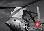 Image of YH-16A turboshaft tactical transport helicopter United States USA, 1955, second 5 stock footage video 65675041442