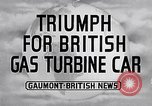 Image of British Rover Company gas turbine car Belgium, 1952, second 3 stock footage video 65675041447