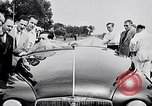 Image of British Rover Company gas turbine car Belgium, 1952, second 6 stock footage video 65675041447
