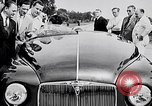 Image of British Rover Company gas turbine car Belgium, 1952, second 7 stock footage video 65675041447