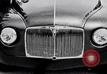 Image of British Rover Company gas turbine car Belgium, 1952, second 9 stock footage video 65675041447