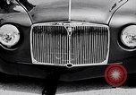 Image of British Rover Company gas turbine car Belgium, 1952, second 10 stock footage video 65675041447
