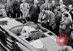 Image of British Rover Company gas turbine car Belgium, 1952, second 12 stock footage video 65675041447