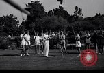 Image of Archery girls Los Angeles California USA, 1937, second 8 stock footage video 65675041450