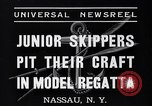 Image of amateur yachtsmen Nassau New York USA, 1937, second 4 stock footage video 65675041451