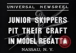 Image of amateur yachtsmen Nassau New York USA, 1937, second 6 stock footage video 65675041451