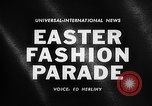 Image of Easter Fashion Parade Miami Florida USA, 1961, second 3 stock footage video 65675041460