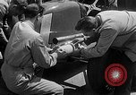 Image of rocket powered race car in Indianapolis Indianapolis Indiana USA, 1946, second 6 stock footage video 65675041470