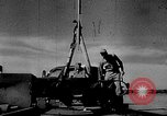Image of rocket powered sled Muroc California, 1948, second 7 stock footage video 65675041471