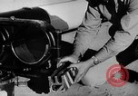 Image of rocket powered sled Muroc California, 1948, second 16 stock footage video 65675041471