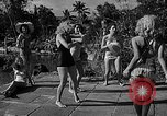 Image of Pin up models Coral Gables Florida, 1948, second 15 stock footage video 65675041472