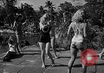 Image of Pin up models Coral Gables Florida, 1948, second 16 stock footage video 65675041472