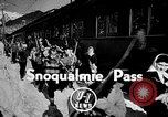 Image of Ken Syverson Snoqualmie Pass Washington USA, 1948, second 3 stock footage video 65675041474
