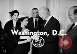 Image of President Eisenhower Washington DC USA, 1956, second 2 stock footage video 65675041477