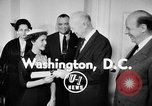 Image of President Eisenhower Washington DC USA, 1956, second 3 stock footage video 65675041477