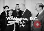 Image of President Eisenhower Washington DC USA, 1956, second 4 stock footage video 65675041477
