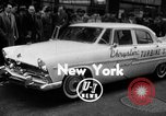Image of Chrysler Turbine Special automobile New York City USA, 1956, second 1 stock footage video 65675041479