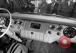 Image of Chrysler Turbine Special automobile New York City USA, 1956, second 4 stock footage video 65675041479