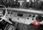 Image of Chrysler Turbine Special automobile New York City USA, 1956, second 5 stock footage video 65675041479
