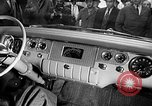 Image of Chrysler Turbine Special automobile New York City USA, 1956, second 7 stock footage video 65675041479