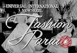 Image of fashion show Italy, 1956, second 4 stock footage video 65675041480