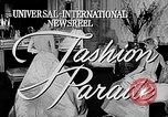Image of fashion show Italy, 1956, second 5 stock footage video 65675041480