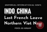Image of French troops Haiphong Vietnam, 1955, second 2 stock footage video 65675041482