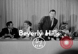 Image of June Allyson Beverly Hills California USA, 1955, second 3 stock footage video 65675041485