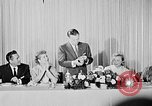 Image of June Allyson Beverly Hills California USA, 1955, second 12 stock footage video 65675041485