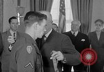 Image of President Eisenhower Washington DC USA, 1954, second 6 stock footage video 65675041489