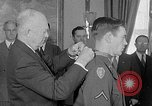 Image of President Eisenhower Washington DC USA, 1954, second 9 stock footage video 65675041489