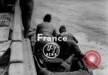 Image of Frogmen Rhine River France, 1954, second 1 stock footage video 65675041491