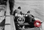 Image of Frogmen Rhine River France, 1954, second 2 stock footage video 65675041491