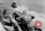 Image of Frogmen Rhine River France, 1954, second 4 stock footage video 65675041491