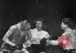 Image of underwater boxing Silver Springs Florida USA, 1954, second 5 stock footage video 65675041495