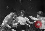 Image of underwater boxing Silver Springs Florida USA, 1954, second 6 stock footage video 65675041495