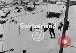 Image of skiing competition Switzerland, 1954, second 3 stock footage video 65675041496