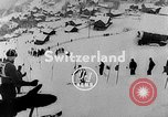 Image of skiing competition Switzerland, 1954, second 4 stock footage video 65675041496