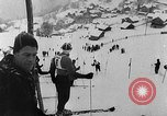 Image of skiing competition Switzerland, 1954, second 5 stock footage video 65675041496