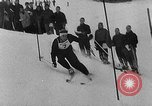 Image of skiing competition Switzerland, 1954, second 7 stock footage video 65675041496