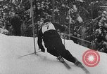 Image of skiing competition Switzerland, 1954, second 9 stock footage video 65675041496