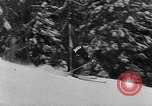 Image of skiing competition Switzerland, 1954, second 11 stock footage video 65675041496