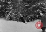 Image of skiing competition Switzerland, 1954, second 12 stock footage video 65675041496
