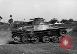 Image of Japanese tank testing India, 1944, second 10 stock footage video 65675041504