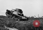 Image of Japanese tank crosses ditch India, 1944, second 8 stock footage video 65675041509