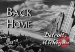 Image of Detroit factory workers Camp Atterbury Indiana USA, 1943, second 2 stock footage video 65675041518